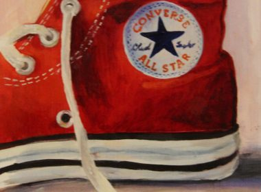 Converse Oil Painting