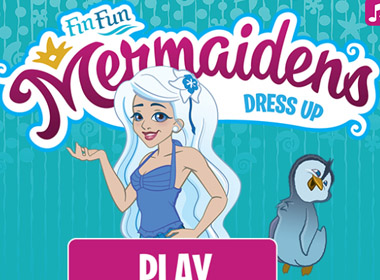 JavaScript Mermaid Dress Up Game
