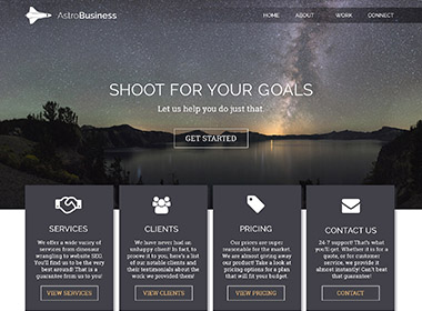 Stars Website Template