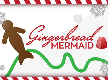 Gingerbread Mermaid