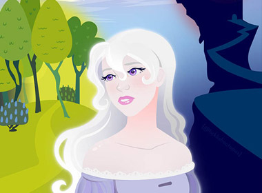 Last Unicorn Vector Fanart